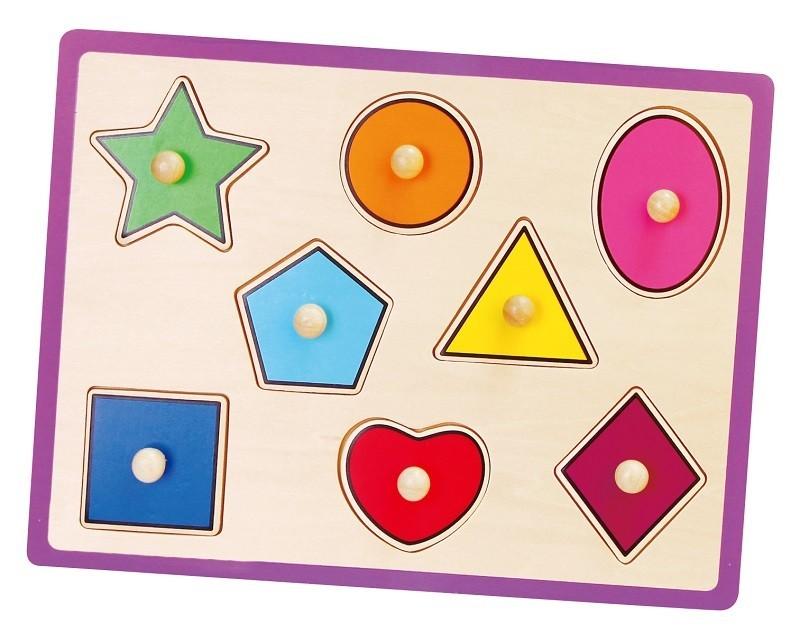 Viga 50015 Puzzle - kształty