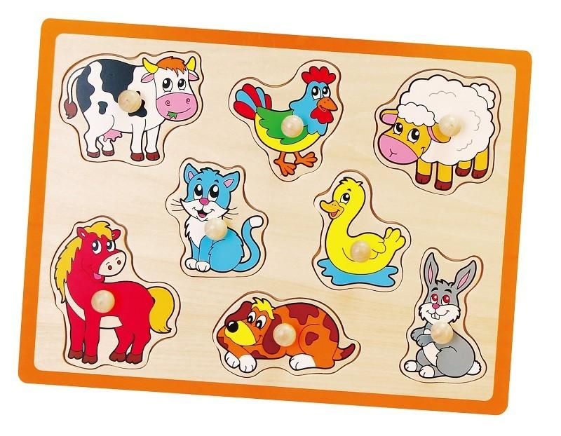 Viga 50017 Puzzle - Loomad
