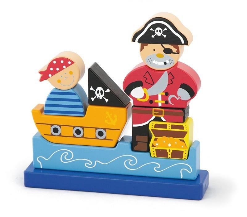 Viga 50077 Magnetpuzzle - Piraat