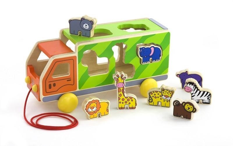 Viga 50344 Järelveetav mänguasi - Loomaveok