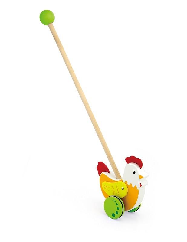 Viga 50964 Lükatav mänguasi - Kukk