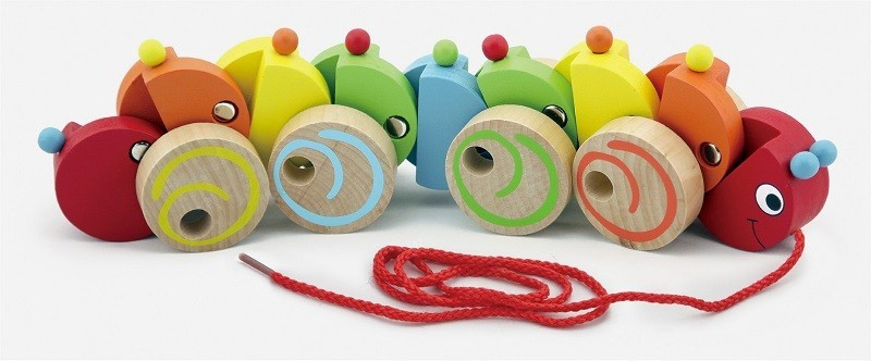 Viga 59950Vg Järeleveetav puidust mänguasi - Us..