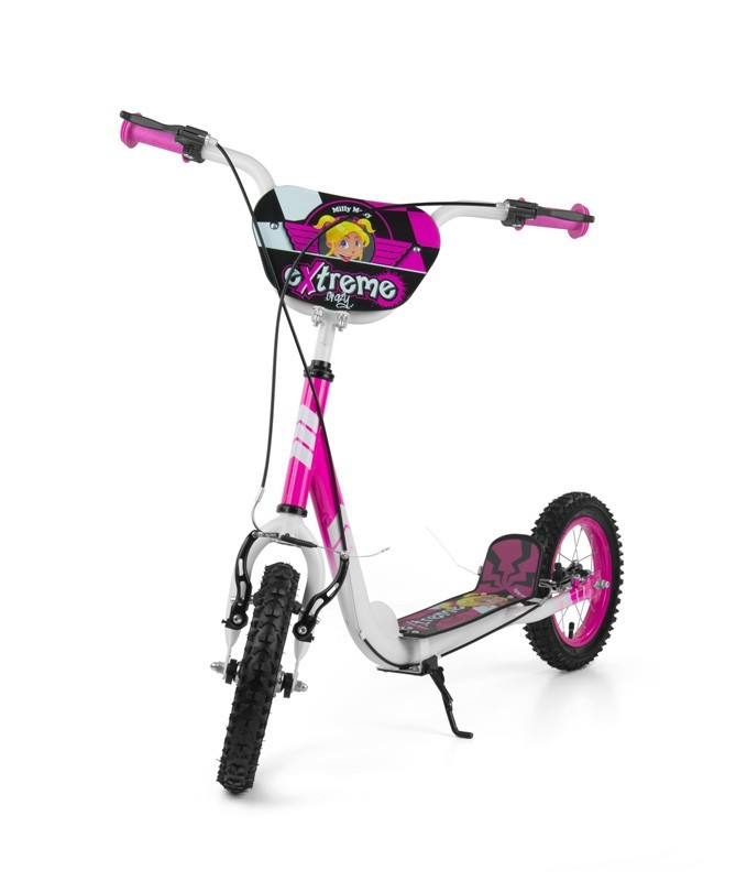 Milly Mally Hulajnoga Crazy Extreme Pink (0355, Milly Mally)