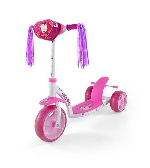 Milly Mally Hulajnoga Crazy scooter pink kitty (0044, Milly Mally)