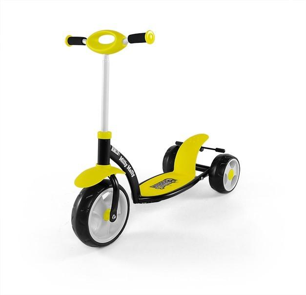 Milly Mally Hulajnoga Crazy Scooter Yellow (0239)