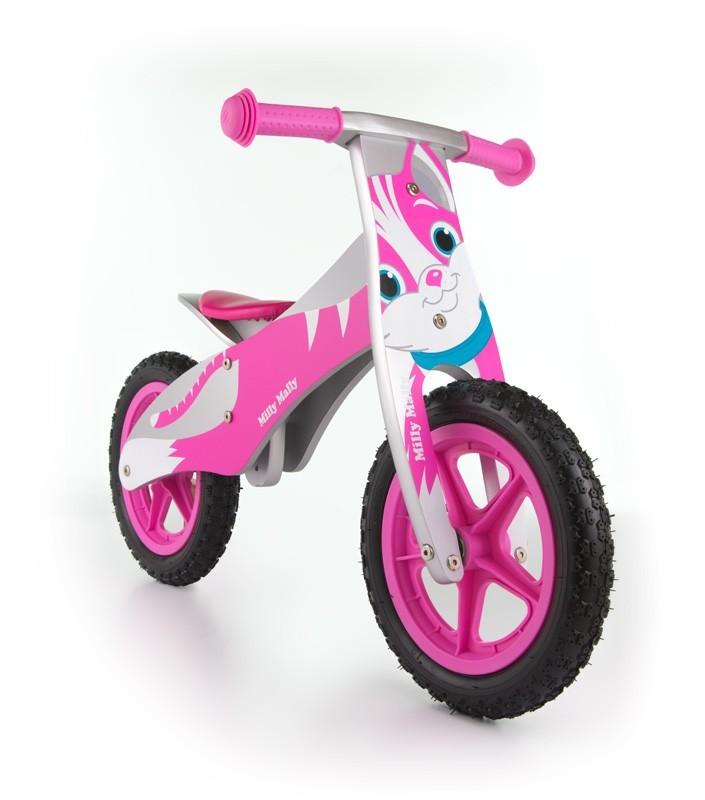 Milly Mally Rowerek Biegowy Duplo Cat Pink (0320, Milly Mally)