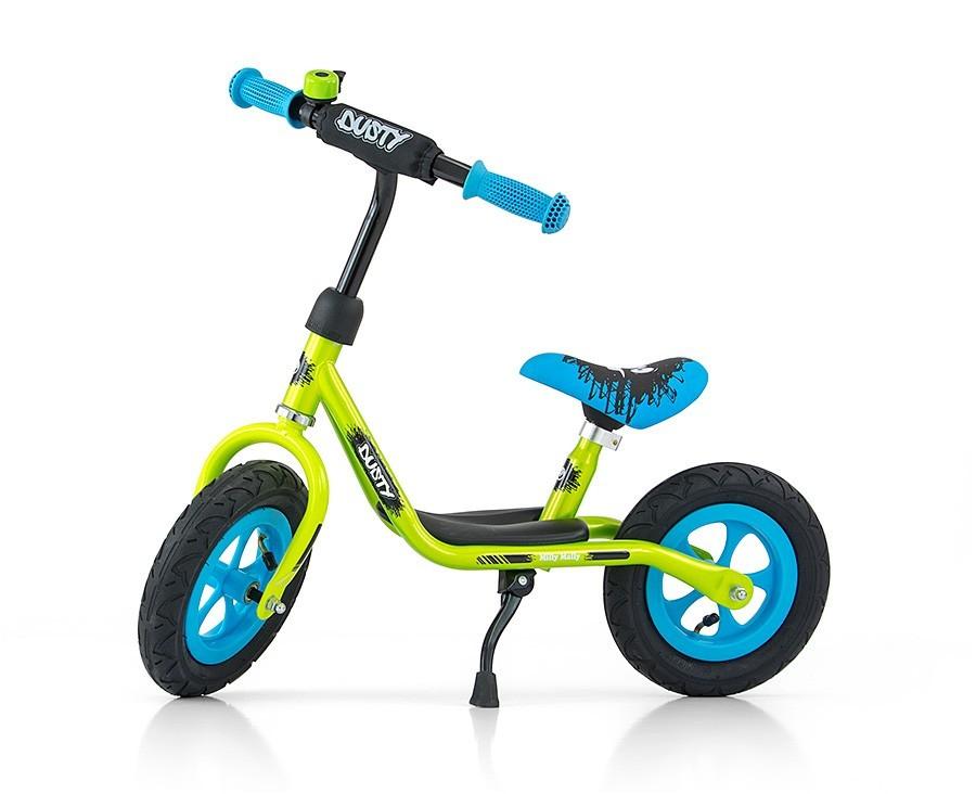 "Rowerek Biegowy Dusty 10"" Green-Blue (51135, Milly Mally)"