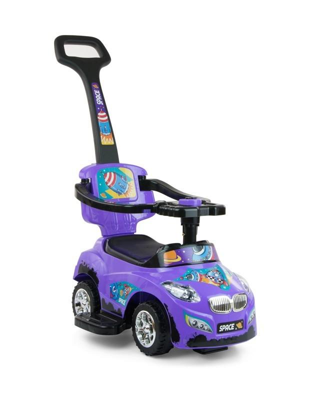 Milly Mally Jeździk 3w1 Pojazd Happy Violet (0356, Milly Mally)