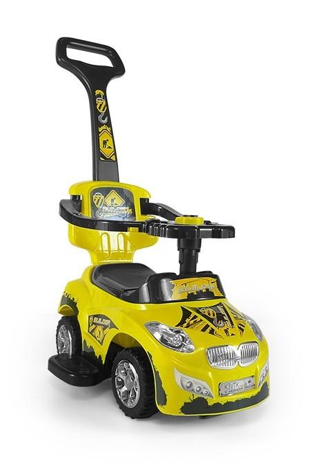 Milly Mally pealeistutav sõiduk Happy Yellow