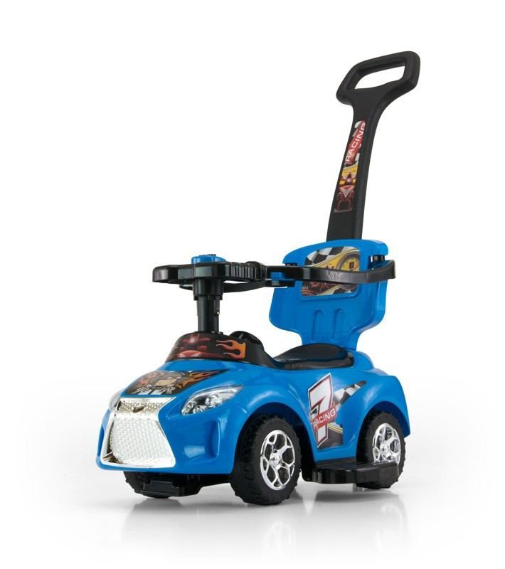 Milly Mally Jeździk 3w1 Pojazd Kid Blue (0452, Milly Mally)