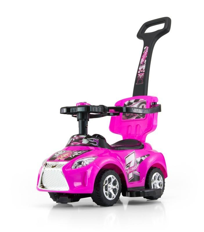 Milly Mally Jeździk 3w1 Pojazd Kid Pink (0456, Milly Mally)