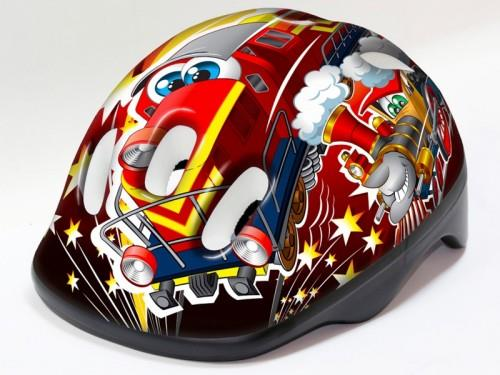 MERIDA HM-BS242 Kask Kidy TRAINS Red XS 44-48 (1613)