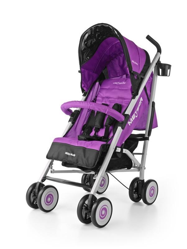 Milly Mally jalutuskäru Meteor Purple