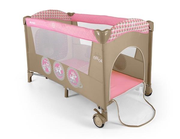 Milly Mally reisivoodi Mirage Pink Toys