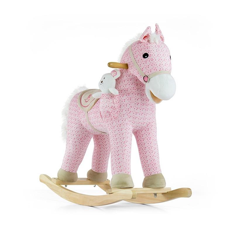Milly Mally kiikhobune Pony Pink