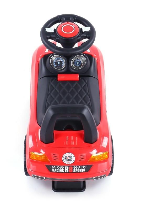 Milly Mally pealeistutav auto Red (laos)