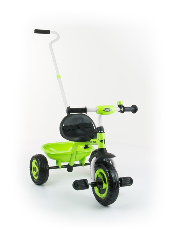 Milly Mally Rowerek Turbo Green (0329, Milly Mally)