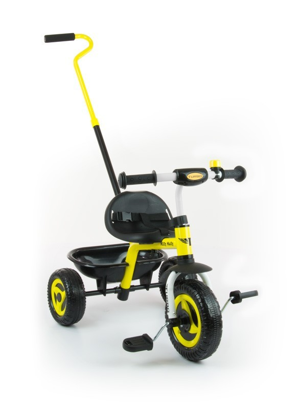 Milly Mally Rowerek Turbo Yellow (0335, Milly Mally)
