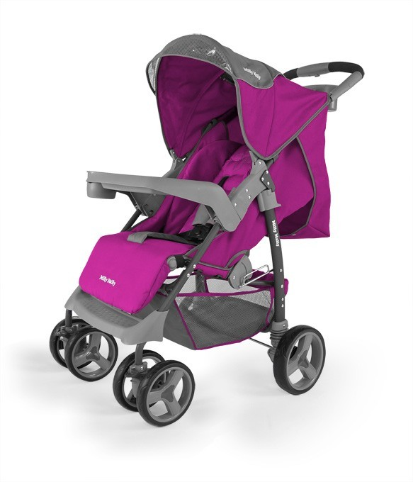 Milly Mally Wózek Vip Purple (0194, Milly Mally)