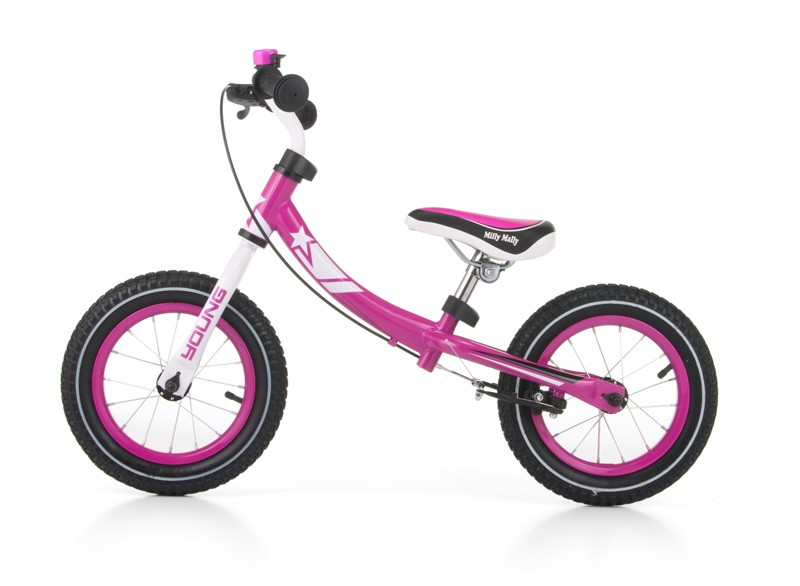 Milly Mally Rowerek Biegowy Young Pink (0391, Milly Mally)